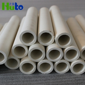 [HUTO CERATRIC] China manufacturer 75% Al2O3 Alumina Ceramic Roller Ceramic Pipe Roller Ceramic for Kile