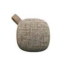 Fabric Covering Portable Wireless Bluetooth Speaker with Sound and Bass for Iphone Ipad Android Smartphone