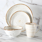 Porcelain Tableware WEIYE Modern Crockery Dinnerware Sets Breakfast Bowl Porcelain Mug Dish Porcelain Tableware