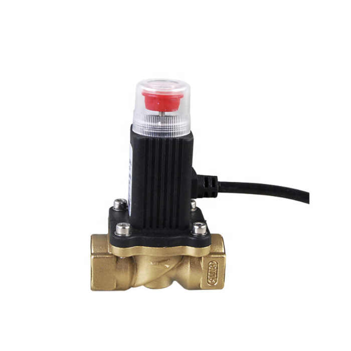 Liquefied Petroleum Gas and Natural Gas Emergency Cut-off Solenoid Valve Home Safety Alarm System Solenoid valve DC12