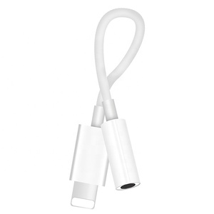 fit for lightning to 3.5 mm headphone jack adapter compatible with iphone adapter