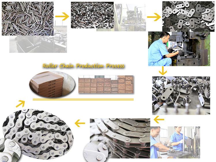 High quality  A serious short putch precision roller chains & bushing chains