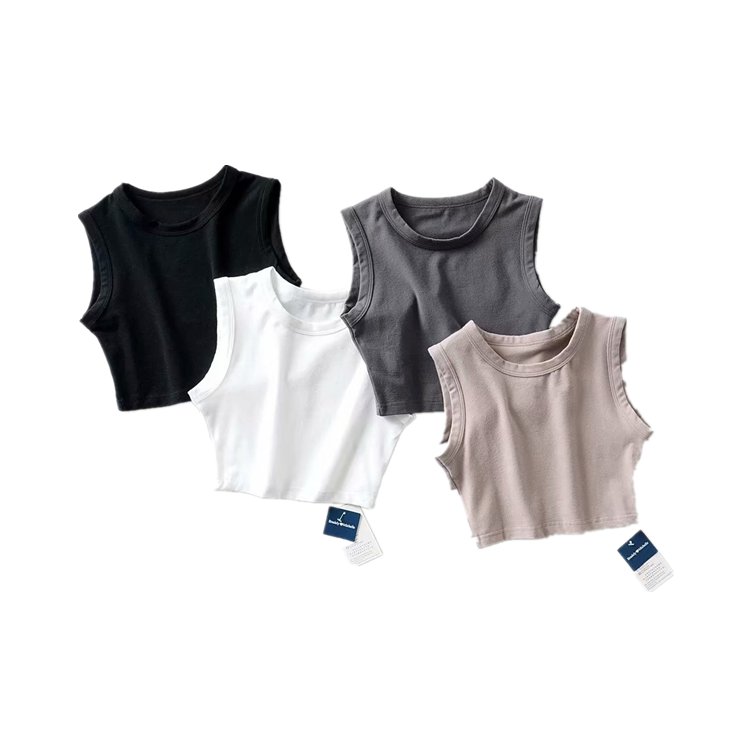 <strong>Womens</strong> Blank Fitness Bodybuilding Gym <strong>Tank</strong> <strong>Tops</strong> Cycling Workout Sports Yoga Crop <strong>Top</strong>