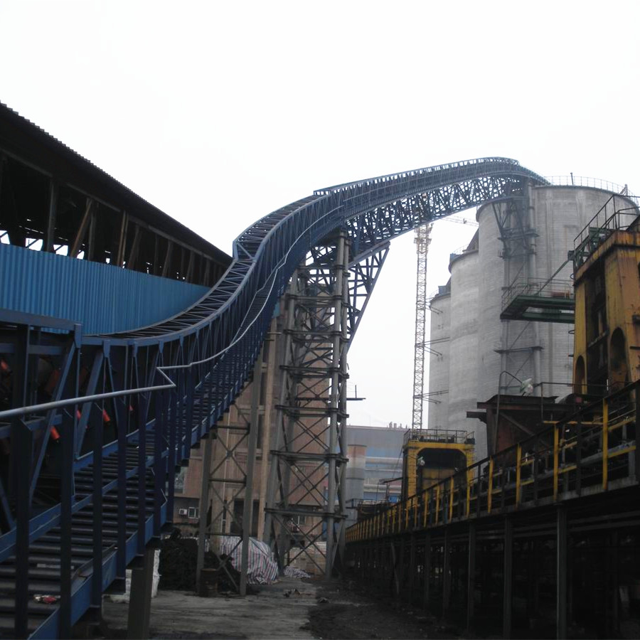 High standard and low cost 500-2000mm wide and thick ore belt conveyor