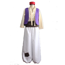 Hommes adultes Halloween Cosplay Aladdin Costumes