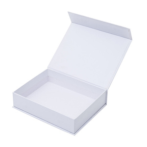 Wholesale New design Luxury A4 A5 A6 cardboard paper Custom magnetic white gift box with lid
