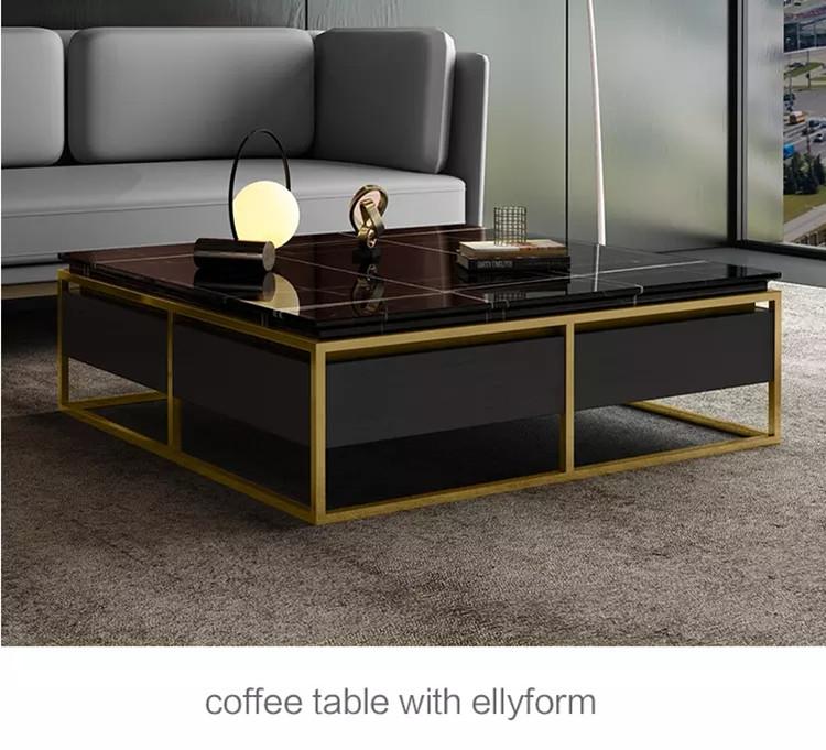 Square modern minimalist net red ins creative tea coffee table