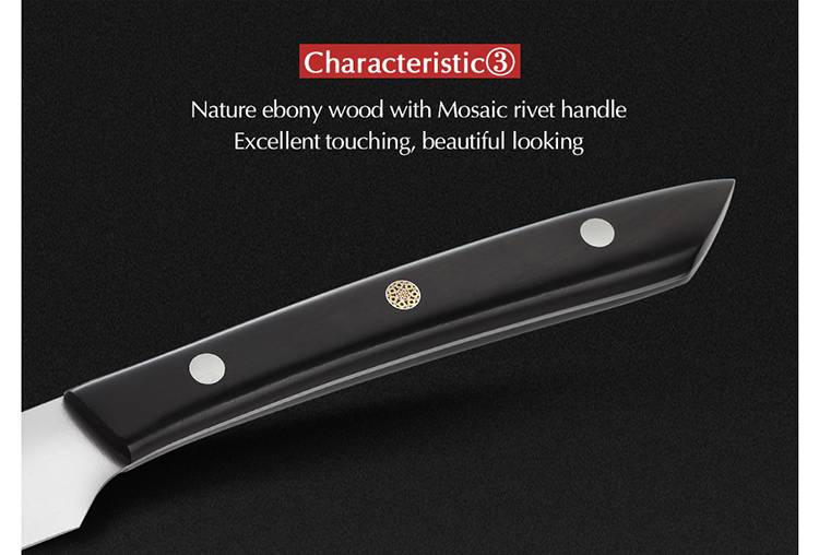 4 pcs 5 inch high-end stainless steel kitchen knife safety utility knife