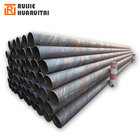 Q235 Hot rolled welded 28 inch heavy carbon ssaw spiral steel pipe ms pipe 3PE coating SSAW pipeline X52 PSL1 36 INCH steel pipe