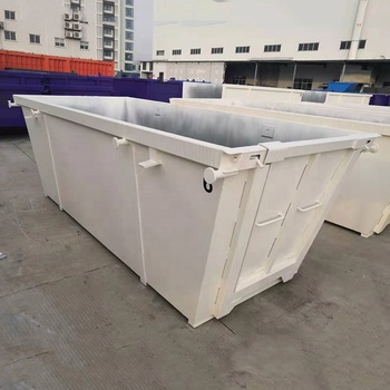 Customized metal garbage recycling skip bin for sale