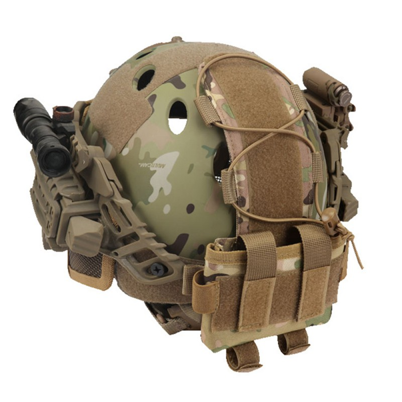 Tactical Pouch MK2 Battery Case for Helmet Camo Hunting Helmet Battery Bags D@