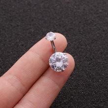 Новинка 2020, кольца для пирсинга живота из кубического циркония, женские кольца для тела, сексуальные кольца для пупка, ювелирные изделия для...(Китай)