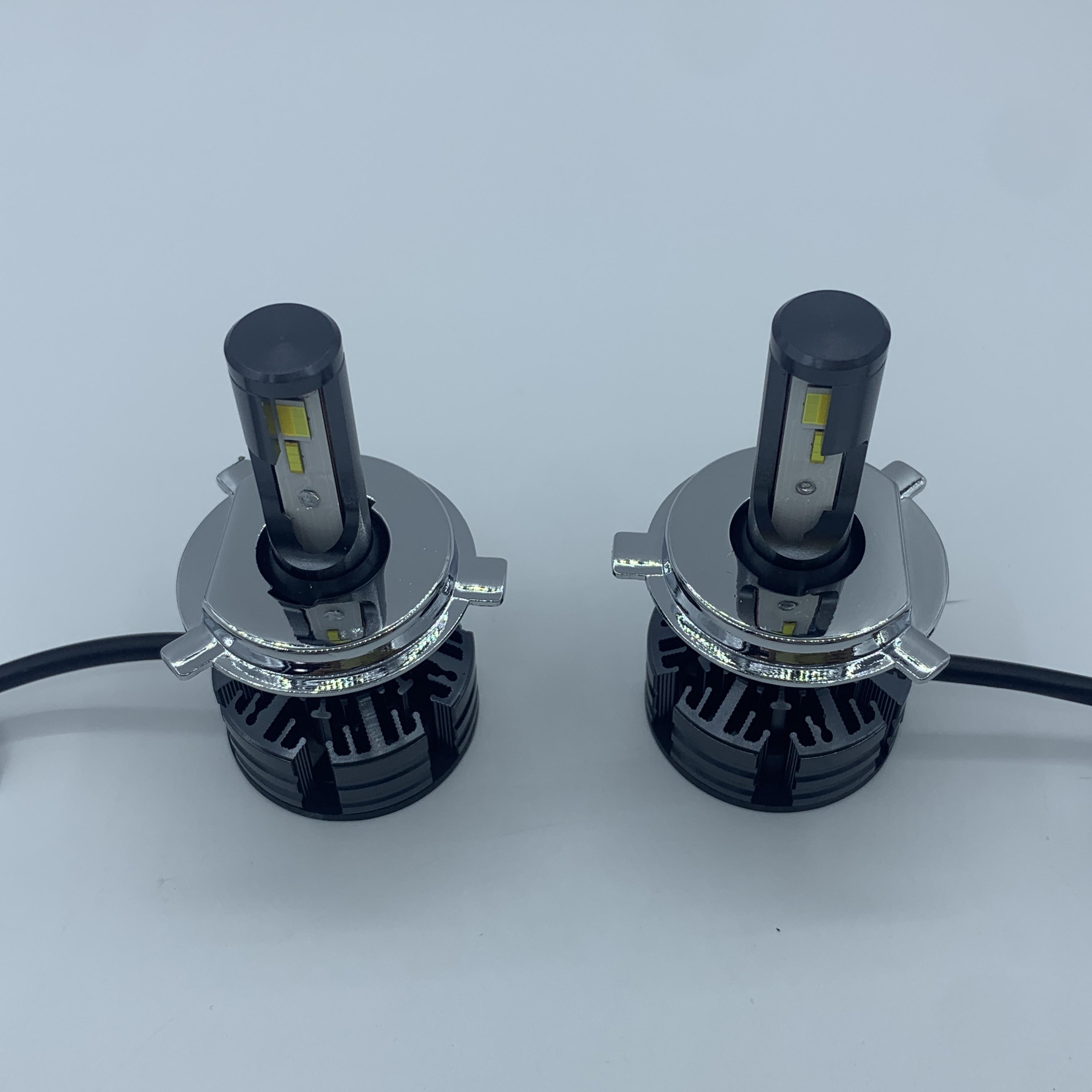 Car led headlight led headlight H4 high low led motorcycle headlight bulb 3colours