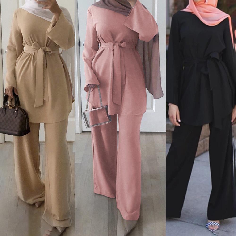 LSM007 Grosir Abaya dari Dubai Wanita 2020 Baju Muslim Pakaian Islami