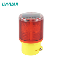 Solar LED Flash <span class=keywords><strong>Amber</strong></span> Jalan Keselamatan Alarm Warning Light