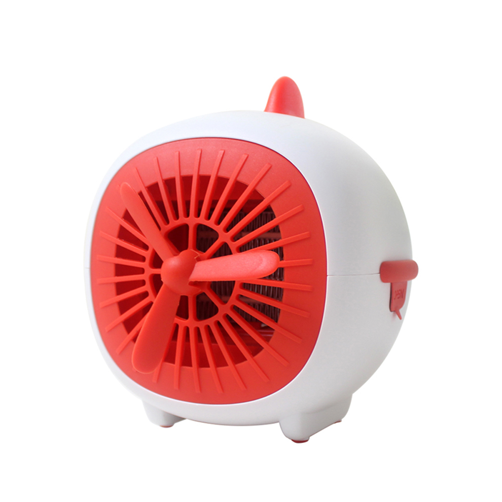 New Plane Design <strong>Heater</strong> Fan Portable Electric 800W Fast Heating Home Room Floor Desk <strong>Heater</strong> Fan Orange