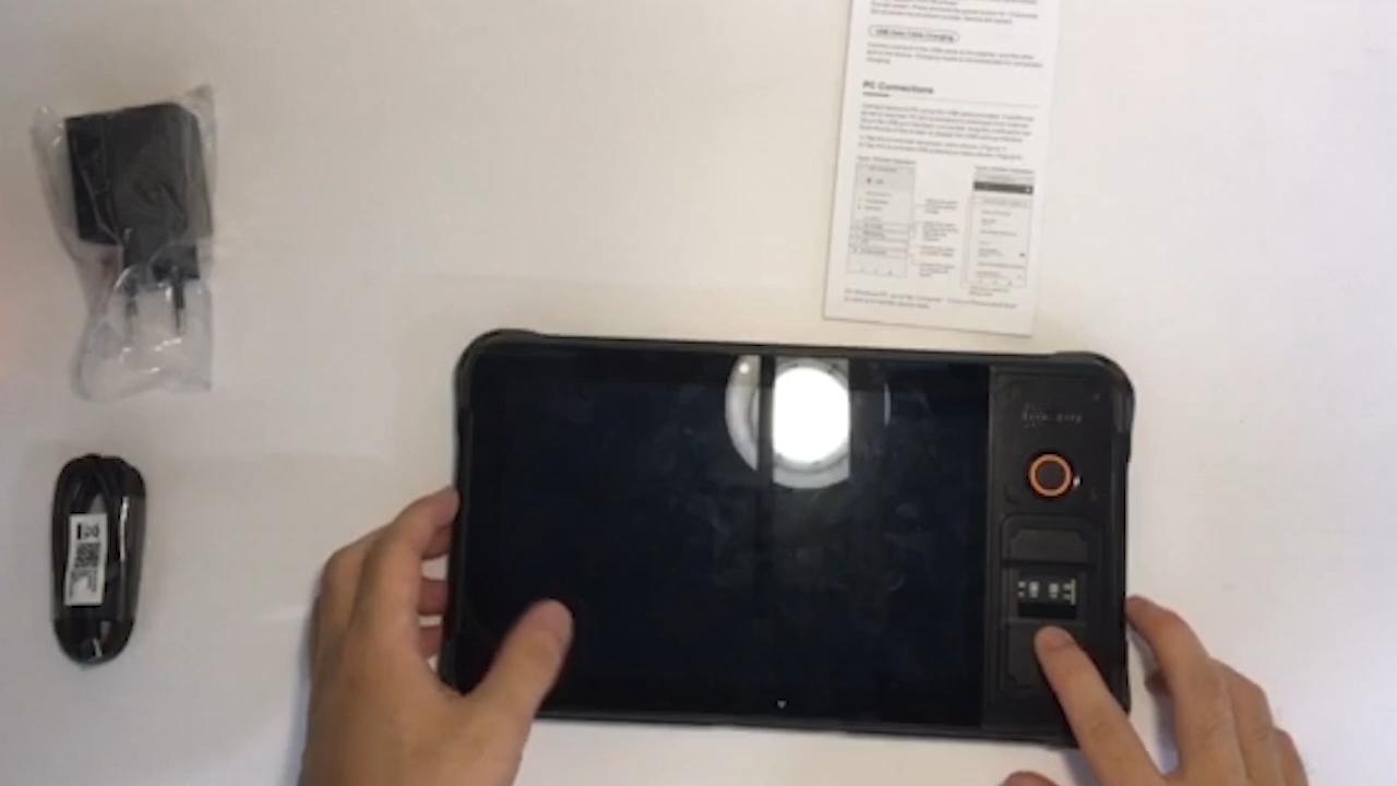 IP67 Không Thấm Nước 4G Android Rugged Công Nghiệp Máy Tính Bảng 8 Inch NFC Máy Tính Bảng Với CE ROHS