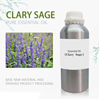 Clary Sage Oil Perfume Essential Manufacturer 100% Pure Natural Aroma Essential Oil Therapy Grade Essential Oil 1000 ML