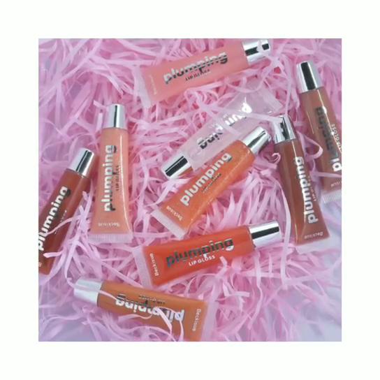 Paroo Cung Cấp 9 Màu Sắc Rõ Ràng Glitter Lip Bóng Sáng Bóng Dầu Khoáng Dưỡng Ẩm Lip Plumping Lip Gloss