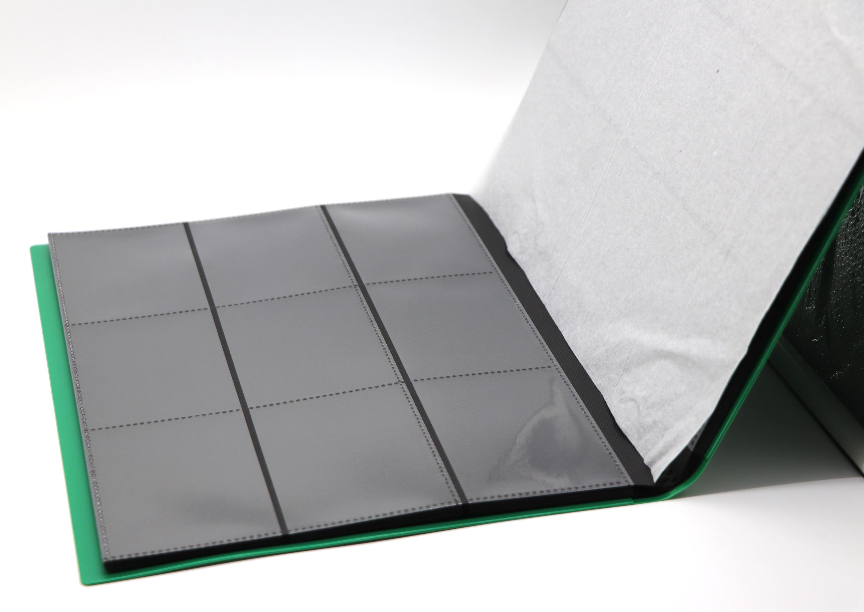 GREEN/RED/BLUE/BLACK PP matte pokemon magic sleeve yugioh trading card binder 5 sets per Box