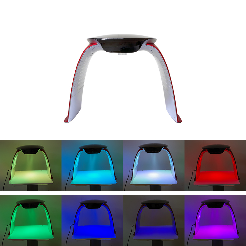7 Colors PDT LED Light Therapy Machine with Nano Mist Spray Steam Acne Removal PDT Machine