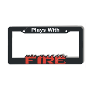 Custom cheap metal decorative USA Stainless steel license plate frame