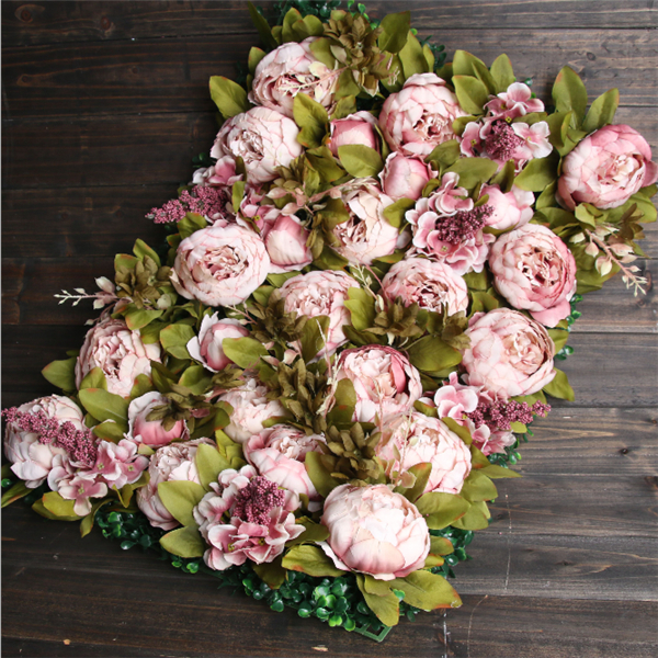 Artificial mix color wedding roll up flowerwall backdrop for wedding flower wall artificial flower decorative flowers