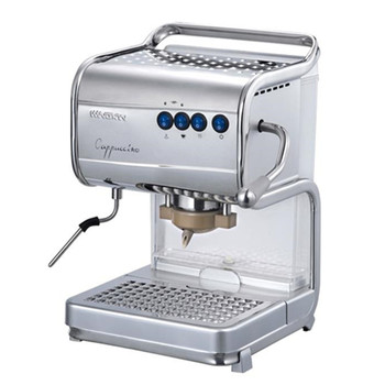bar espresso coffee machine with the steam function to frothing milk from cappuccino