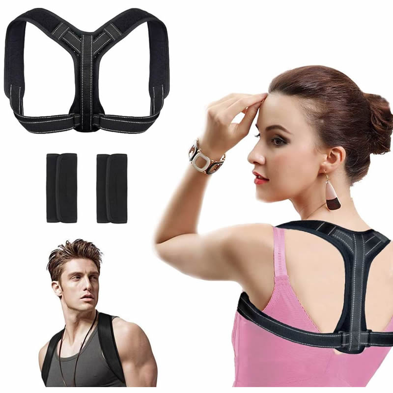 Best sale amazon hot sale adjustable neoprene humpback body wellness back posture corrector