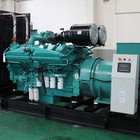 Power Genuine Engine With Generator Main Power Long Time Running 1000kw 1250kva Diesel Generator With Genuine KTA38-G9 Engine Open Or Container Type
