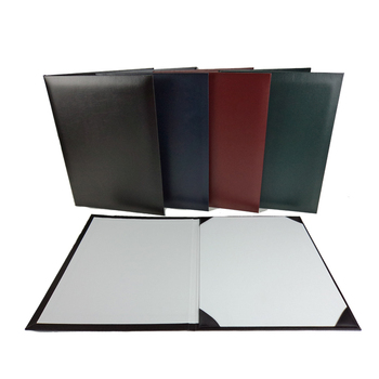 High quality certificate holder\ a4 faux leather diploma cover \award folio various sizes cardboard for diploma frame