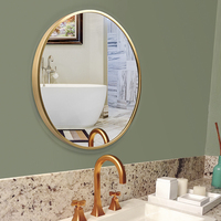 framed decorative wall mirror