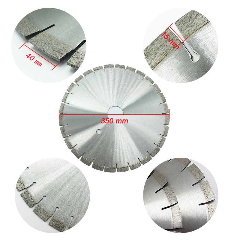Large 500mm Diamond saw blade for granite, sintered diamond saw blade