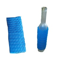 Expanded Polyethylene Wine Bottle Foam Sleeve Net