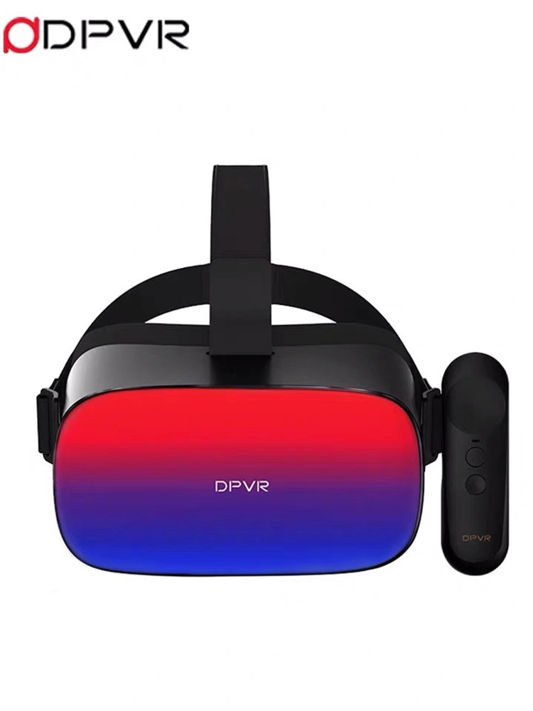2020 New Product# DPVR Deepoon P1 Pro 4K Snapdragon XR1 Chip and BOE 3840*2160 real 4K screen all-in-one VR headset