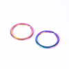 30mm flat ring rainbow color