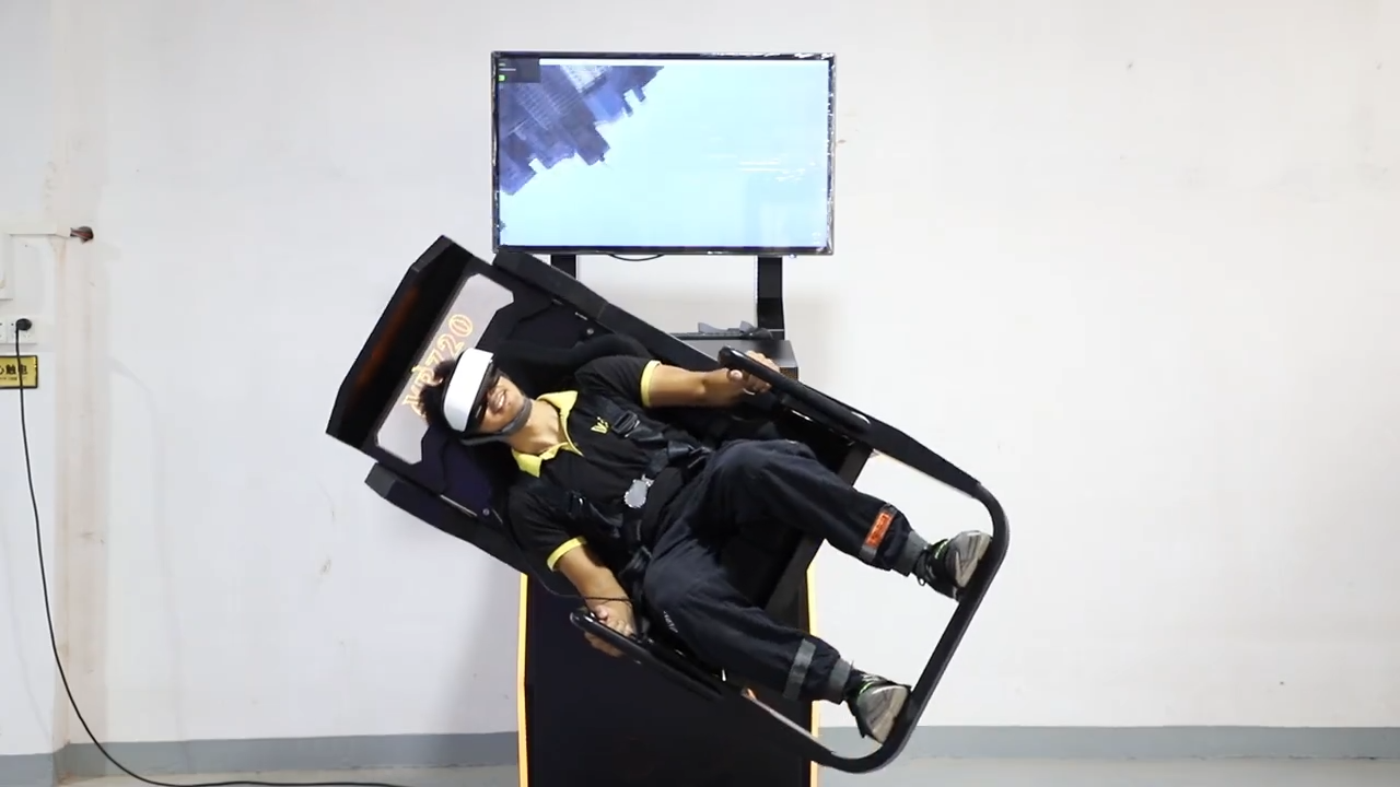 360 720 Degree Motion 9D VR Chair Simulator Game Machine for Gaming Station Carnival Games Theme Park