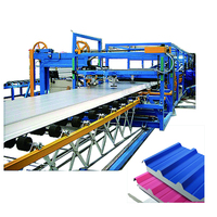 China Used EPS Foam Sandwich Panel Making Machine Production Line