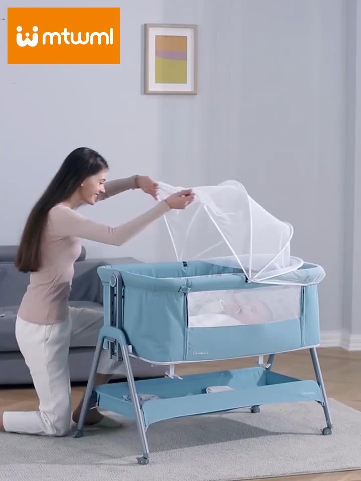 Haute qualité bébé portable pliable bébé lit berceau lit couffin nacelle pour bébé