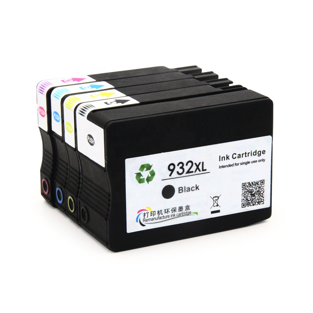 Ocbestjet For HP Ink Cartridges 933 932 For HP Officejet 6700 Premium e-AIO Printer Ink Cartridge