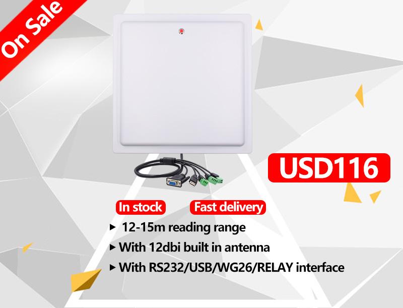OPEX Chafon 15 メートルロング読書距離 usb RS232 WG26 リレーインタフェース rfid uhf リーダー