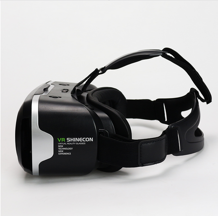 Googles Cardboard <strong>3D</strong> Virtual <strong>Glasses</strong> Shinecon <strong>VR</strong> 2.0 ii Virtual Reality 3 d <strong>VR</strong> Headset Helmet Head Mount + Remote Control