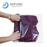 New Design hand rolling vacuum bag for travel