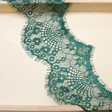 3 м 9,5 см Ширина 10 Цвета с цветочной вышивкой кружевной ткани Отделка лентами для плетения браслетов своими руками шитьё вручную материалы а...(Китай)