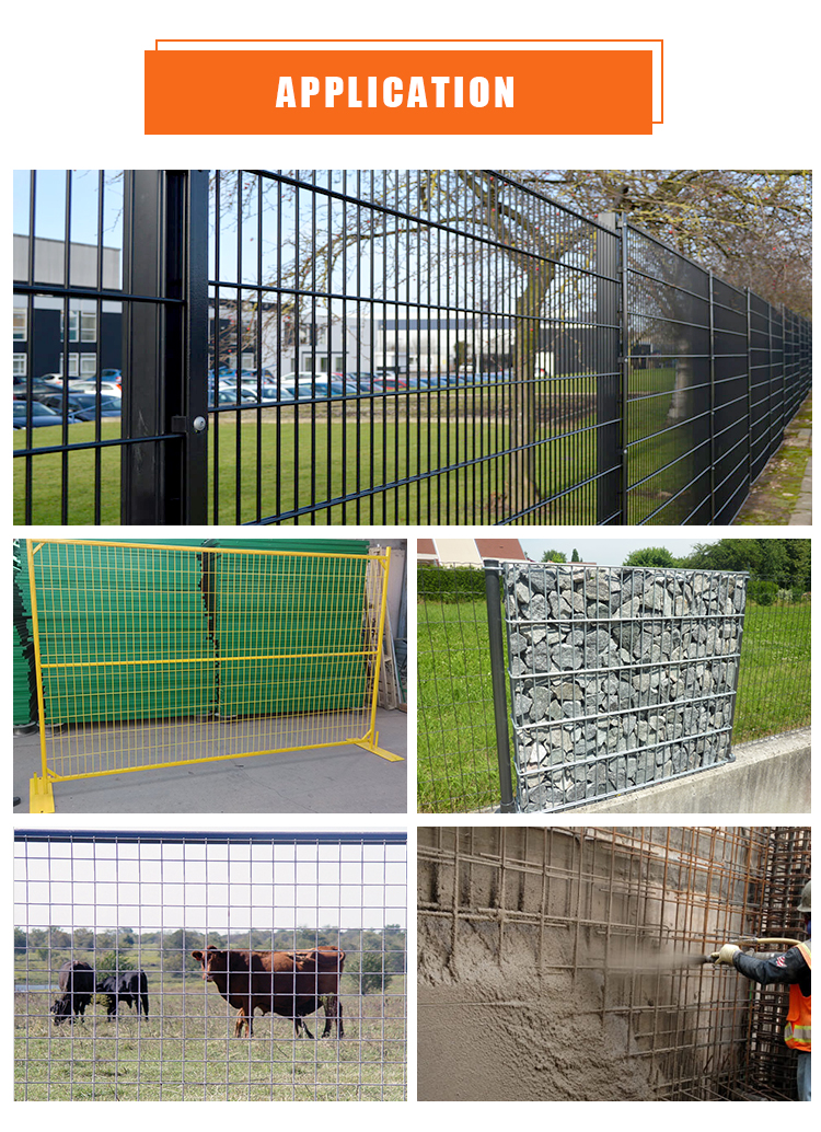 welded wire mesh fence panels in 12 gauge for fence