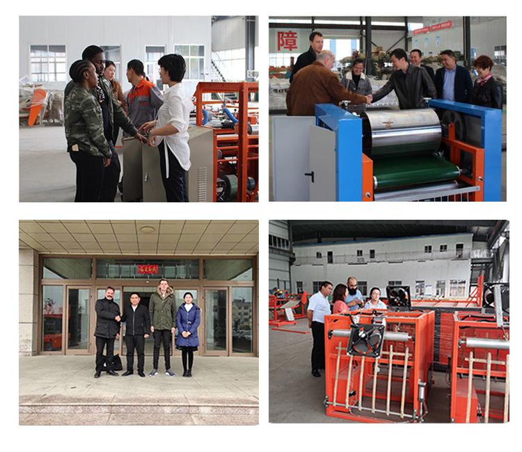 longyi machinery woven bag making machine manufacturer non woven polypropylene fabric in roll cut and sewing