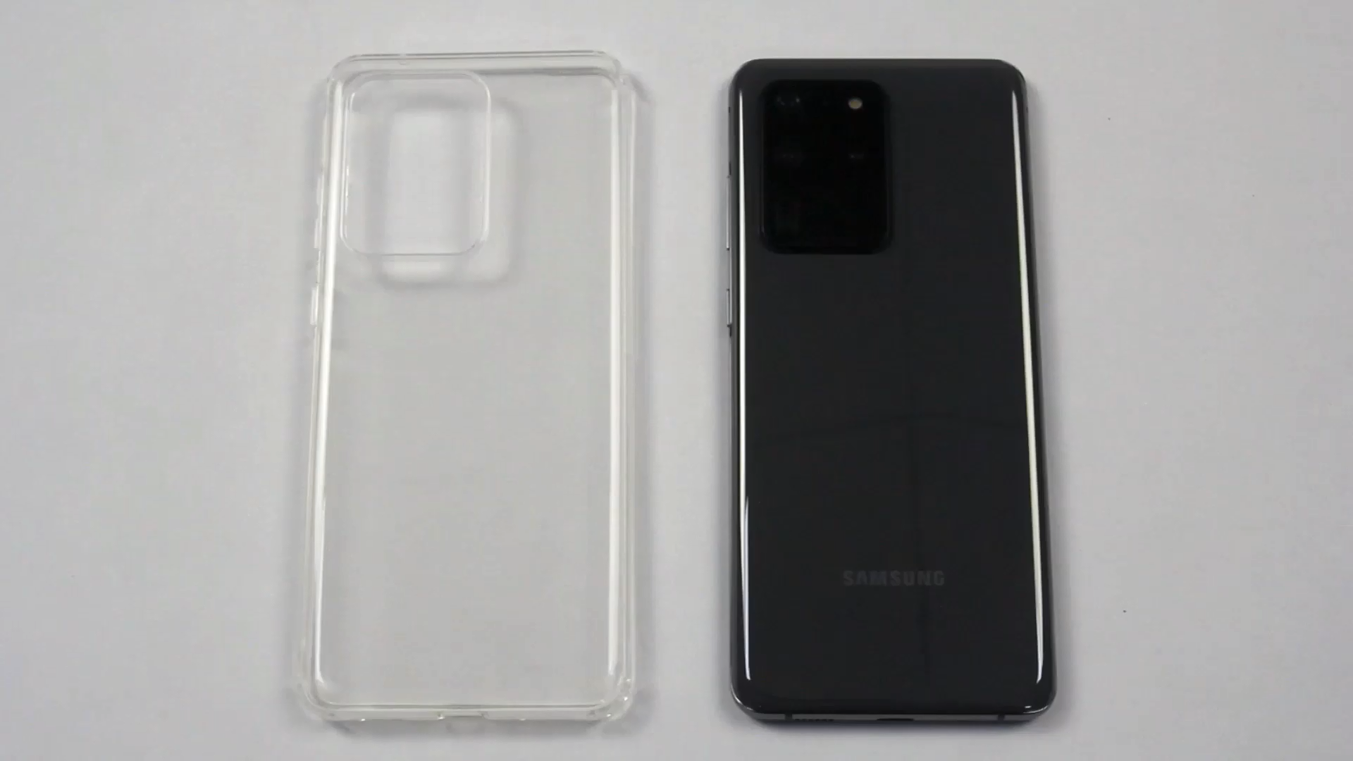 Corner four bumpers TPU Clear Transparent Dropproof Soft Case Cover For Samsung Galaxy S20/S20Plus/S20 Ultra