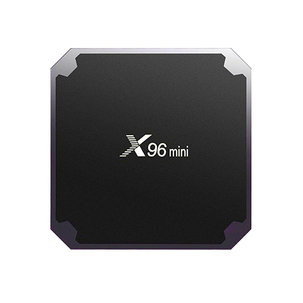 X96 mini 2GB 2,4 GB 16G WIFI de 5GB de firmware android 7,1 amlogic s905W inteligente OTT tv Box jugador