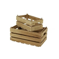 Cheap wooden crates small wooden boxes wholesale arts crafts case