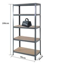 Heavy Duty boltless ชั้นวางของยูทิลิตี้ Racking System